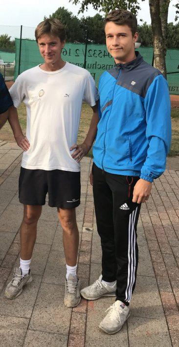 Nils Tyczewski gewann das Finale des Herren-Einzels gegen Julian Otto.