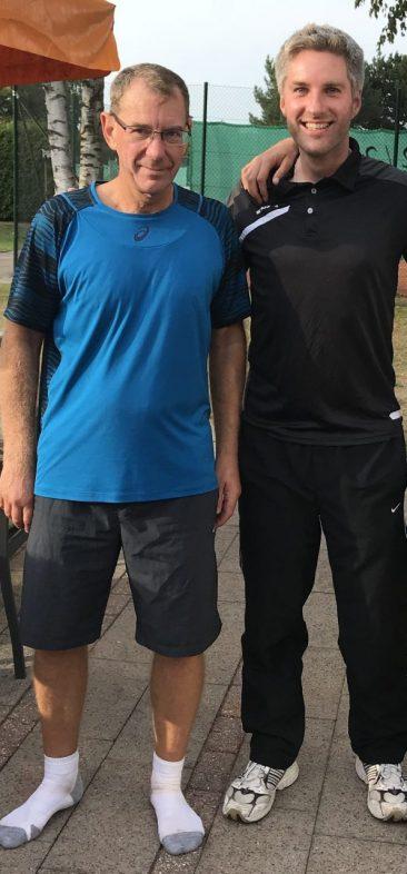 Sieger im Herren-Doppel: Michael Wiescholek und Daniel Meyer