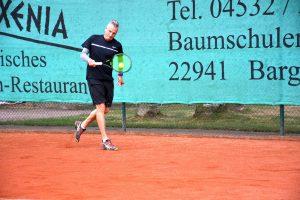 Michael Freitag will mit den Herren 50 in die Landesliga aufsteigen.