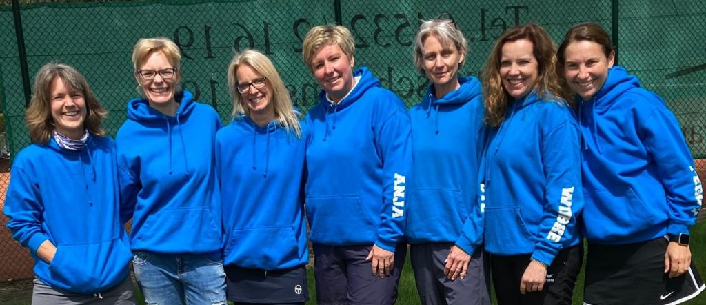 Starkes Team: Susanne Hann, Annika Hutt, Susanne Dackweiler, Anja Hövelmann, Ute Göttsche, Wiebke Lengler und Peggy Sollwedel (v.l.).
